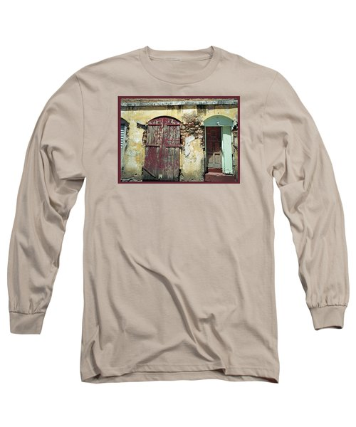 The Doors Of San Juan Long Sleeve T-Shirt