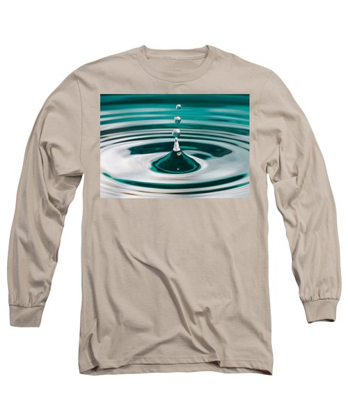 Long Sleeve T-Shirt featuring the photograph The Drop by Yvette Van Teeffelen
