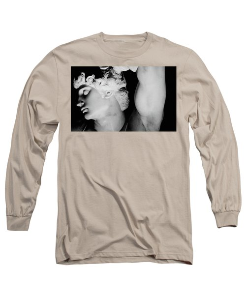 The Dying Slave Long Sleeve T-Shirt by Michelangelo Buonarroti
