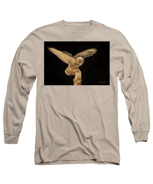 The Eagle-owl Has Landed Long Sleeve T-Shirt