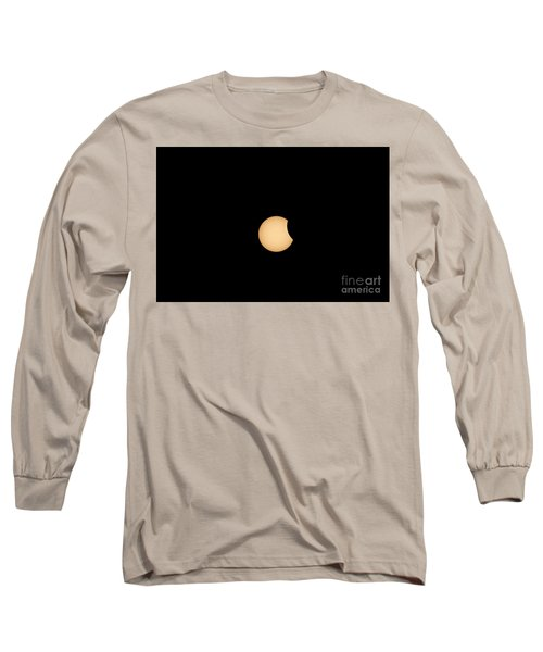 The Eclipse Begins Long Sleeve T-Shirt