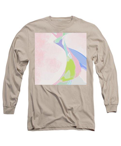The Edge Of Her Kimono Long Sleeve T-Shirt