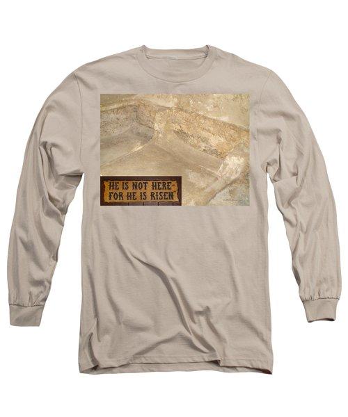 The Empty Tomb Long Sleeve T-Shirt
