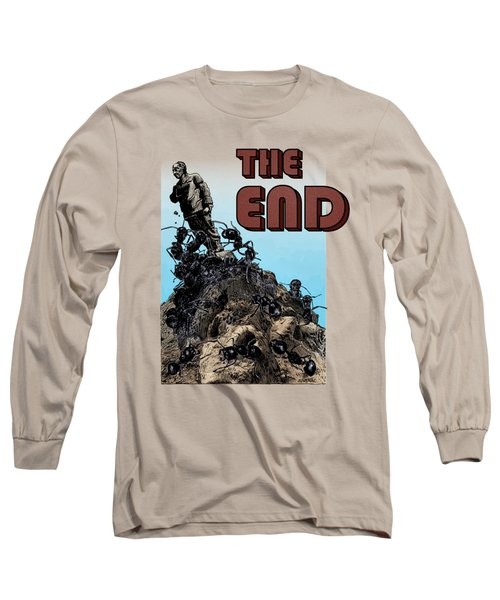 The End Long Sleeve T-Shirt by Joseph Juvenal