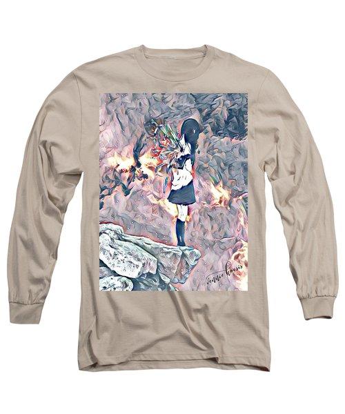 The End Of Hope Long Sleeve T-Shirt by Vennie Kocsis