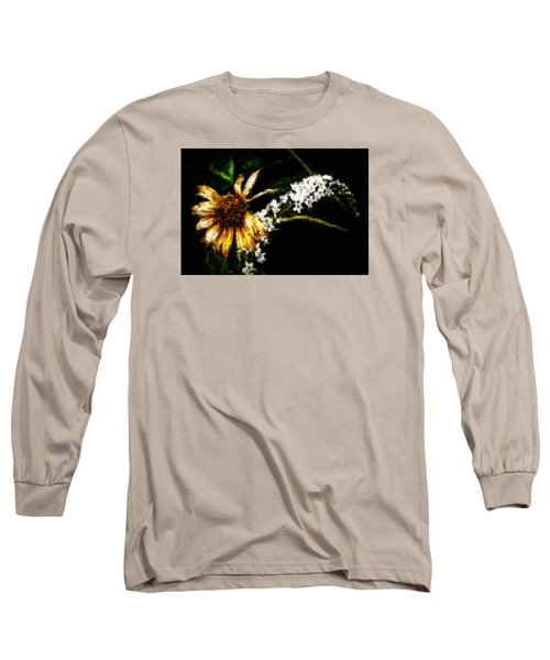 Long Sleeve T-Shirt featuring the digital art The End Of Summer by Cameron Wood