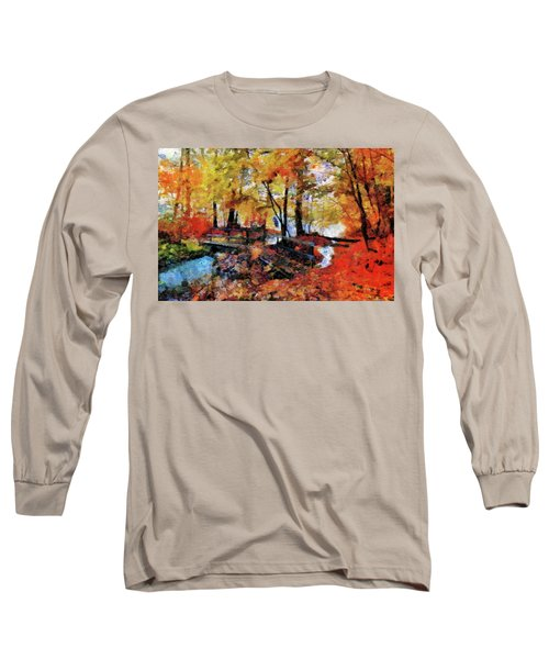 The Failing Colors Of Autumn Long Sleeve T-Shirt