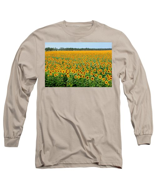 The Field Of Suns Long Sleeve T-Shirt