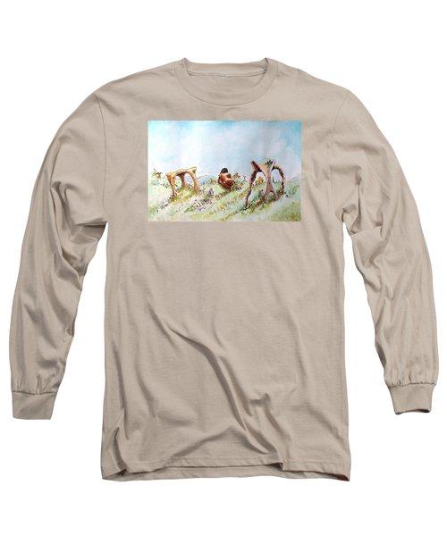 The Fields Of Artemis Long Sleeve T-Shirt