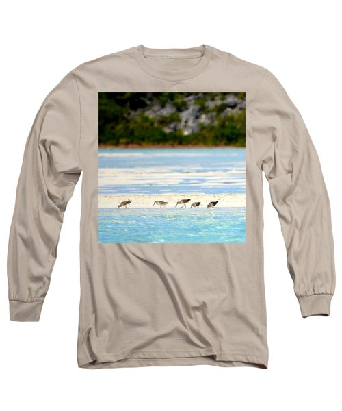 The Five Sandpipers Long Sleeve T-Shirt