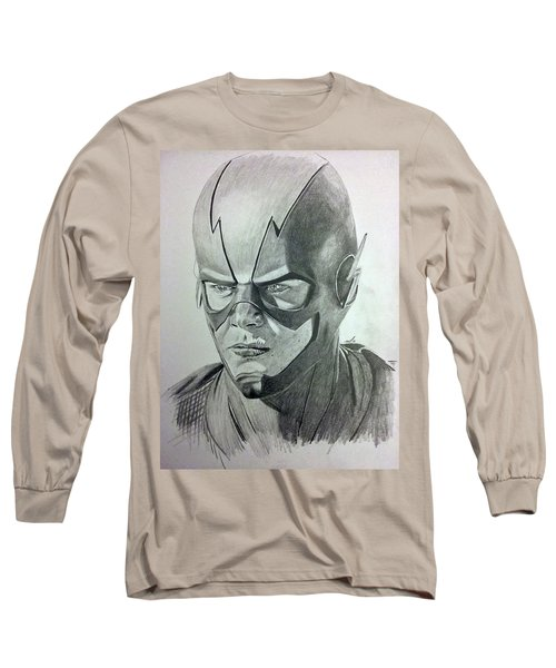 The Flash Long Sleeve T-Shirt by Michael McKenzie