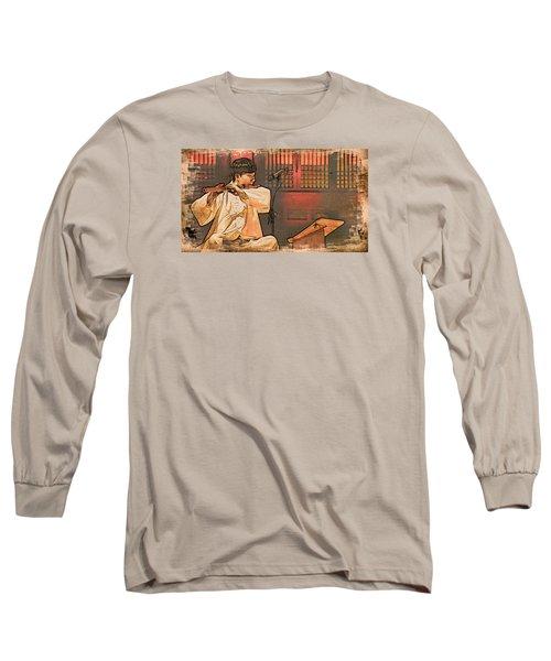 The Flautist Long Sleeve T-Shirt