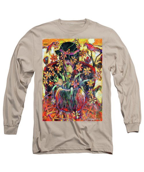 The Flower Arranger Long Sleeve T-Shirt