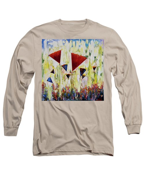 The Flower Party Long Sleeve T-Shirt