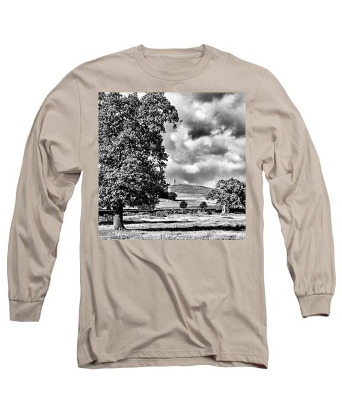 Old John Bradgate Park Long Sleeve T-Shirt by John Edwards