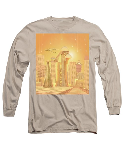 The Future Is Golden Long Sleeve T-Shirt