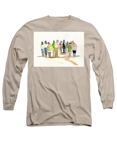 The Gathering Long Sleeve T-Shirt by P Anthony Visco