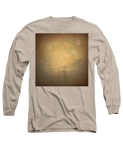 The Ghost Turns Away Long Sleeve T-Shirt