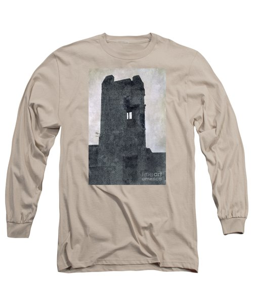 Long Sleeve T-Shirt featuring the photograph The Ghostly Tower by Linsey Williams