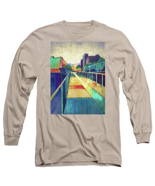 The Glass Bridge Long Sleeve T-Shirt by Steven Llorca