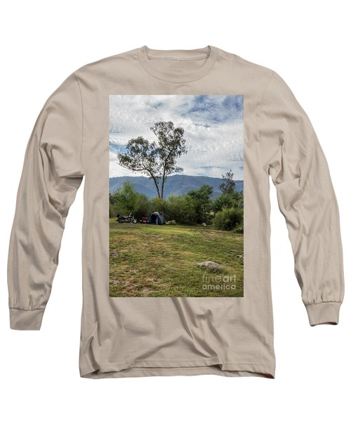 The Good Life Long Sleeve T-Shirt by Linda Lees