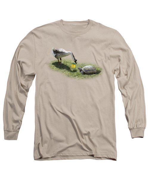 The Goose And The Turtle Long Sleeve T-Shirt by Gravityx9   Designs