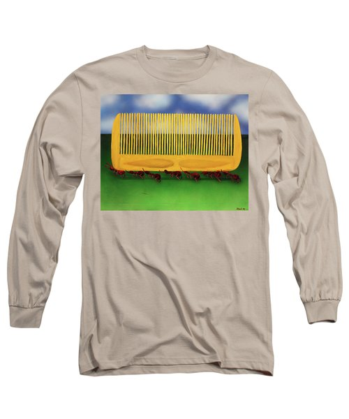 The Great Escape Long Sleeve T-Shirt by Thomas Blood