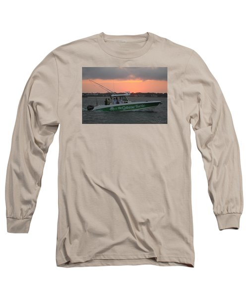 The Greene Turtle Power Boat Long Sleeve T-Shirt