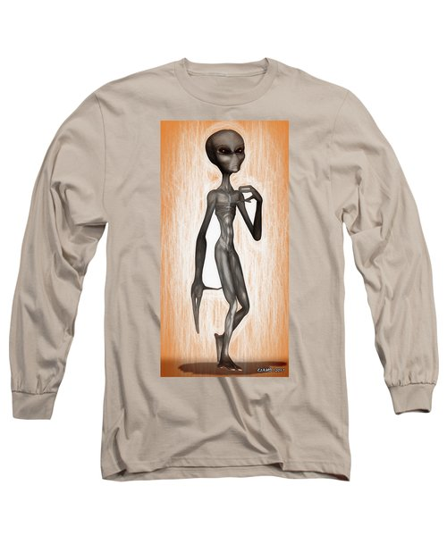 The Grey  Long Sleeve T-Shirt