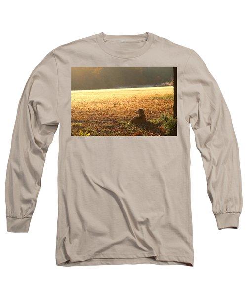 The Guardian Long Sleeve T-Shirt by Sheila Brown