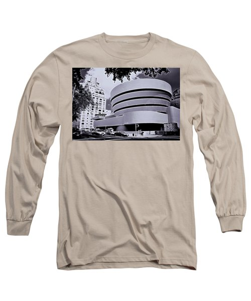 The Guggenheim Black And White Long Sleeve T-Shirt