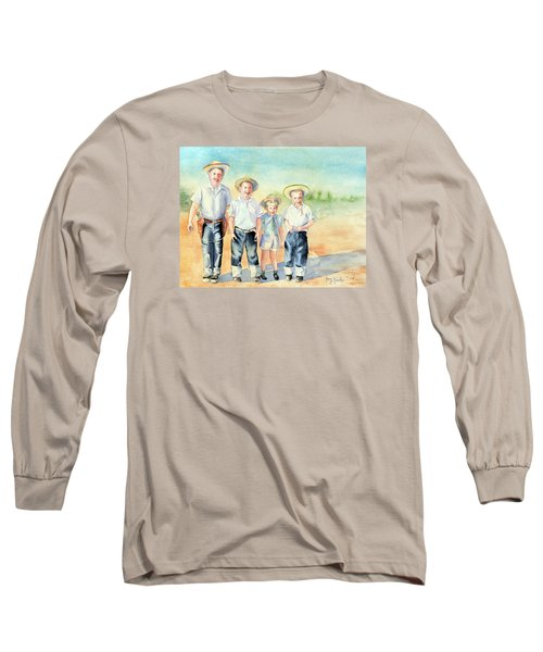 The Happy Wranglers Long Sleeve T-Shirt
