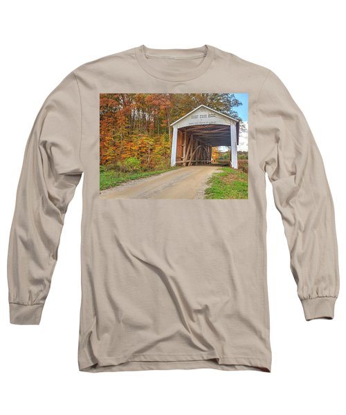 The Harry Evans Covered Bridge Long Sleeve T-Shirt