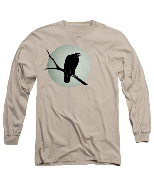 The Hawk Long Sleeve T-Shirt by Mark Rogan