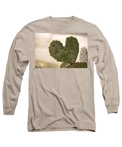 Long Sleeve T-Shirt featuring the photograph The Heart Of Texas by Debbie Karnes