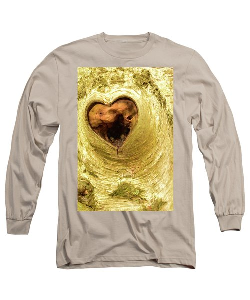 The Heart Of The Tree Long Sleeve T-Shirt
