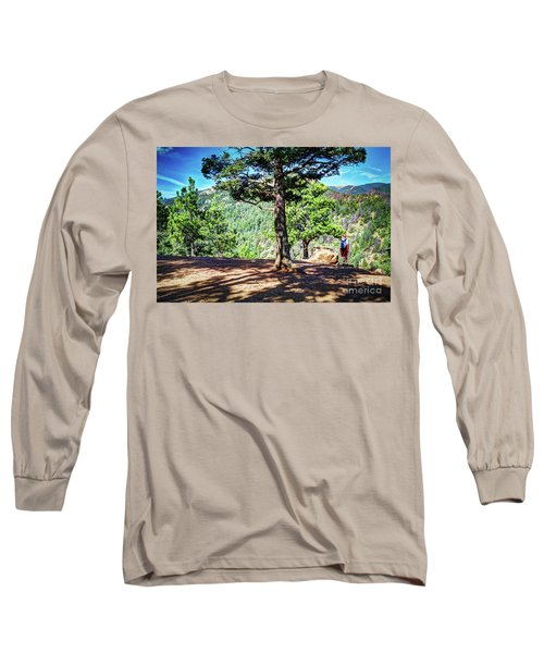 The Hike Long Sleeve T-Shirt by Deborah Klubertanz