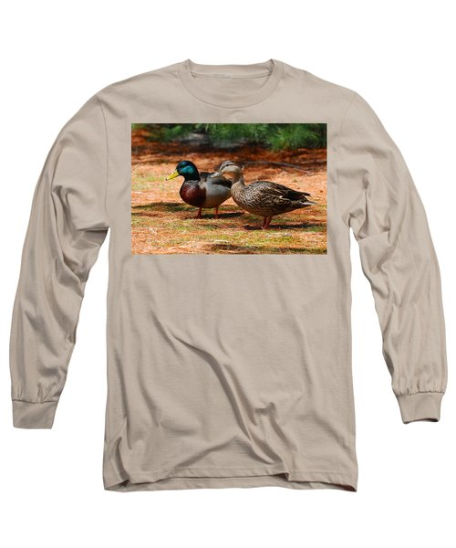 The Honeymooners - Mallard Ducks  Long Sleeve T-Shirt