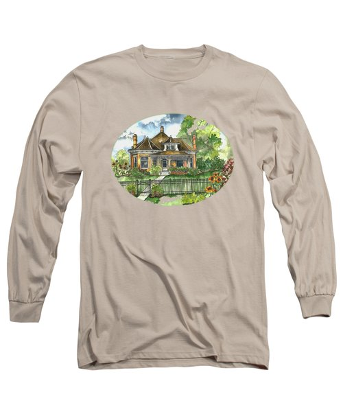 The House On Spring Lane Long Sleeve T-Shirt