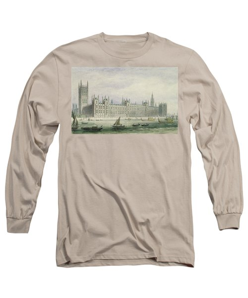 The Houses Of Parliament Long Sleeve T-Shirt