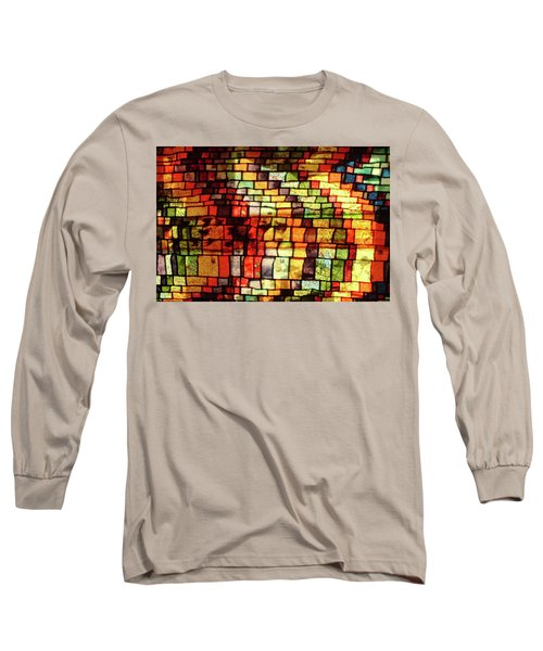 The Human Heart Likes A Little Disorder In Its Geometry Long Sleeve T-Shirt by Danica Radman