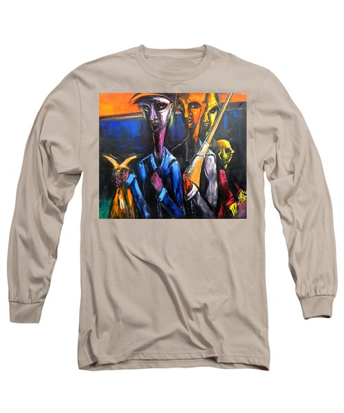 The Hunters Long Sleeve T-Shirt by Kenneth Agnello