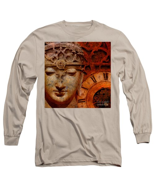 The Illusion Of Time Long Sleeve T-Shirt by Christopher Beikmann