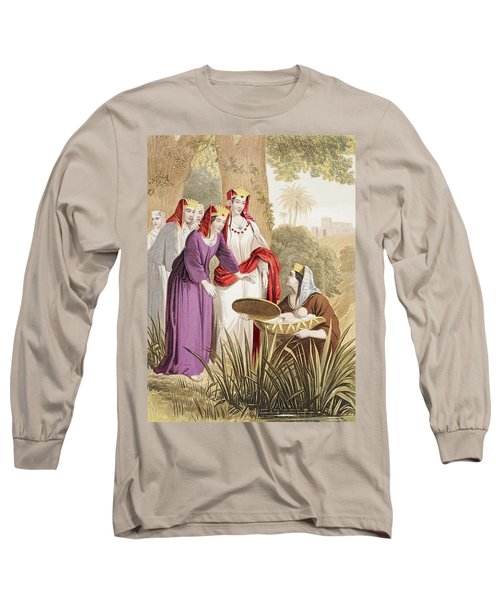 The Infant Moses Is Found In The Long Sleeve T-Shirt