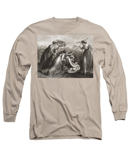 The Infant Moses Is Found Long Sleeve T-Shirt