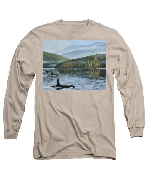 The Inside Passage Long Sleeve T-Shirt
