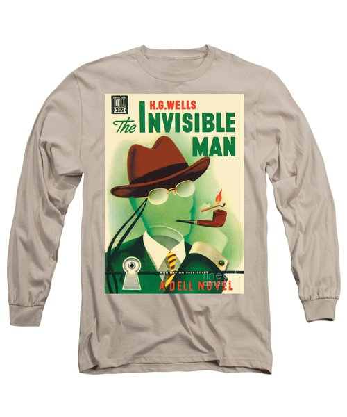 The Invisible Man Long Sleeve T-Shirt by Gerald Gregg