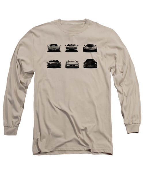 The Italian Supercar Collection Long Sleeve T-Shirt