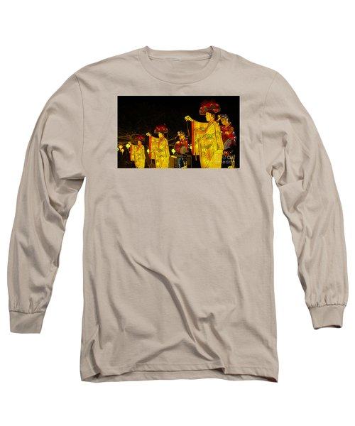 The Japanese Lantern Dancers Long Sleeve T-Shirt