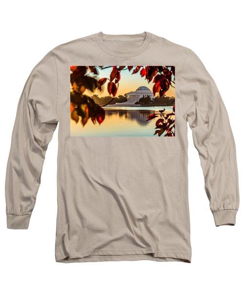 Jefferson In Autumn Long Sleeve T-Shirt